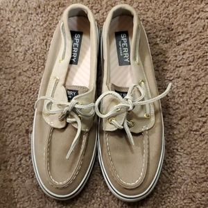 Never Worn Sperrys